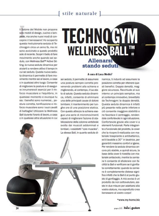 Technogyn Wellness Ball My Home Luca Medici Designer